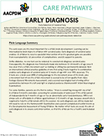 Early Diagnosis Plain Language Summary