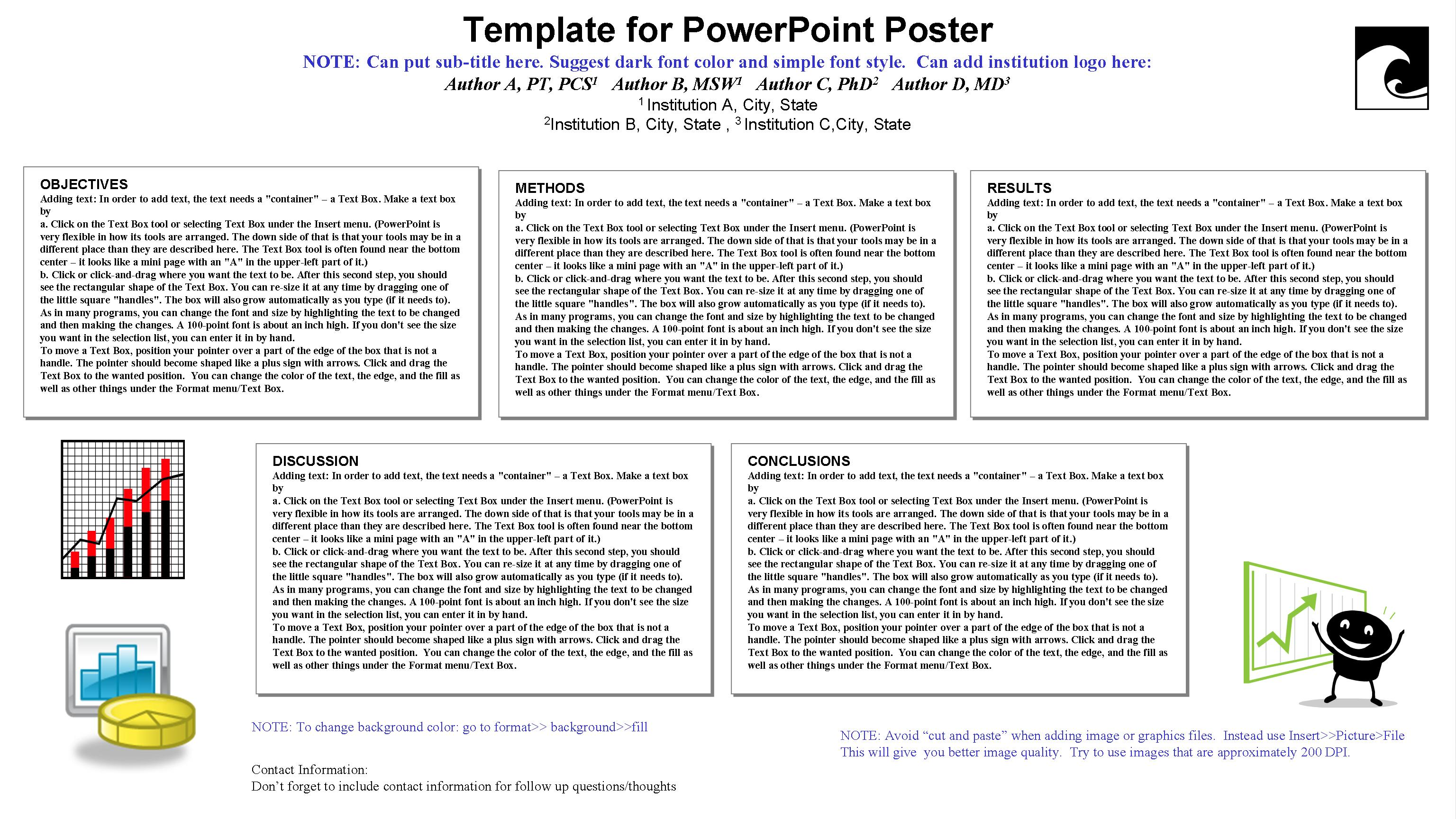 powerpoint poster template 90 x 120 gallery - templates example, Modern powerpoint