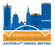 AACPDM: 67th Annual Meeting - Milwaukee, WI