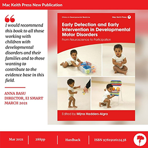 Mac Keith Press newly published book graphic